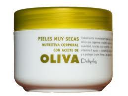Crema corporal Deliplus con aceite de oliva   IN FRONT ROW STYLE