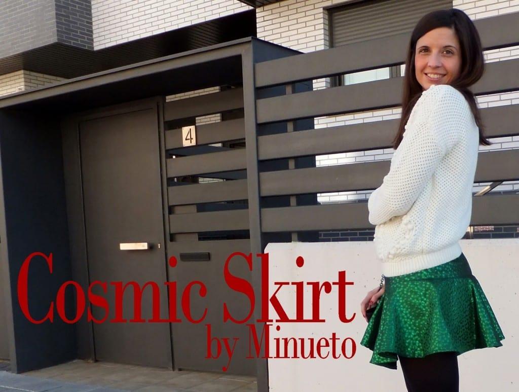 falda verde minueto